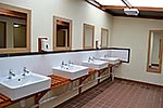 toilet block basins